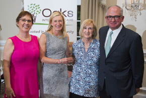 Whitesell and Heitzman Family Honored by Oaks Integrated Care