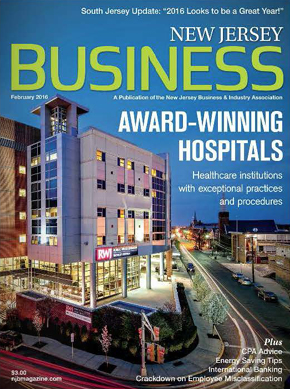 New Jersey Business - February 2016 issue